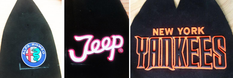 Logo-nhựa-dẻo-ép-mũ-lưỡi-trai-thương-hiệu-jeep-yankees-alfa-romeo
