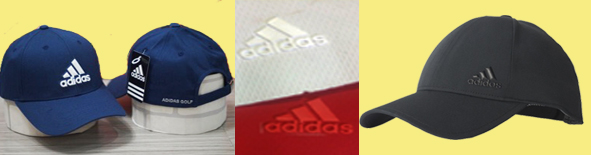 Nón-ép-logo-nhựa-dẻo-adidas